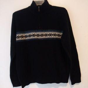 J. Crew Factory Sweater 100% Lambs Wool Sz L